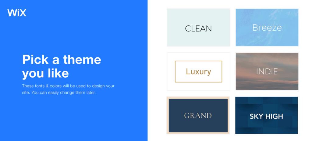 themes pour créer un site ecommerce facilement