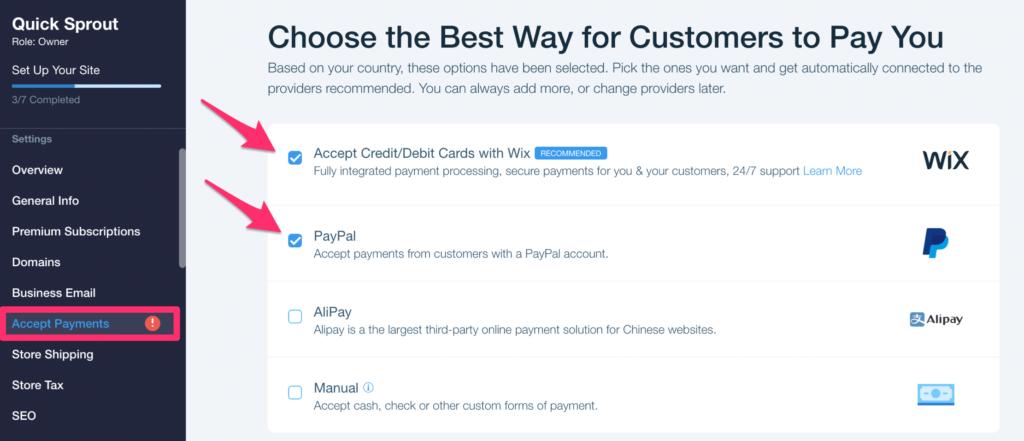 Paiements pour un site ecommerce