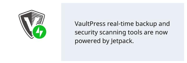 meilleur plugin wordpress VaultPress