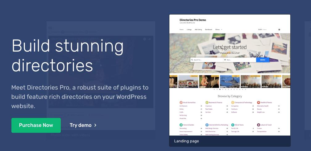 Annuaires Pro meilleur plugin wordpress