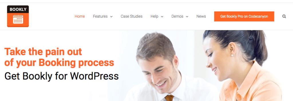 meilleur plugin wordpress Bookly