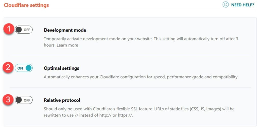 Wp Rocket & ; Cloudflare Add On Settings