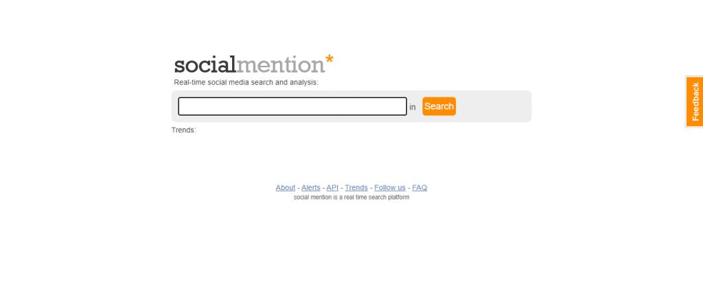 moteur de recherche socialmention